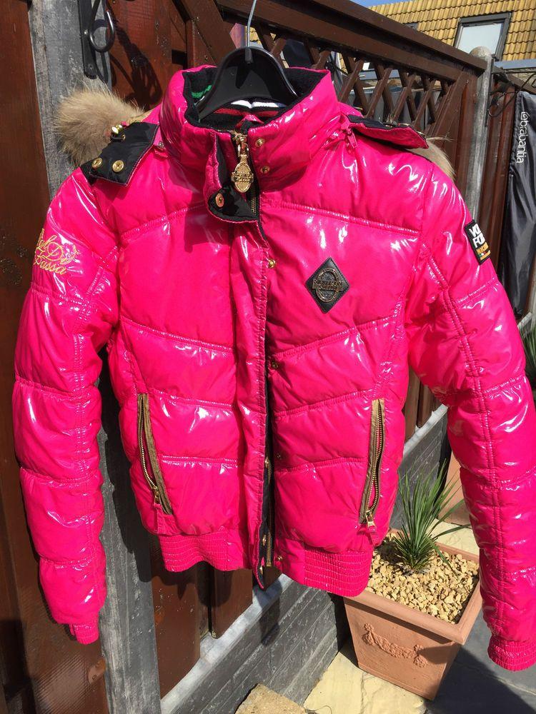 Nickelson damen lack jacke Größe xs pink | Jacken, Damen und