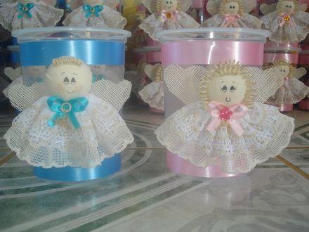 Manualidades moldes de aguinaldos de angelitos para bautizo imagui tutoriales pinterest - Centros de mesa para primera comunion originales ...