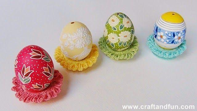 Riciclo Creativo - Craft and Fun: Decorazioni di Pasqua : Uncinetto e Riciclo Creativo