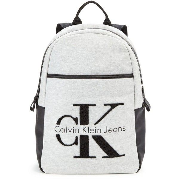 70381f0428 Calvin Klein Cecile Backpack ($195) ❤ liked on Polyvore featuring bags,  backpacks, rucksack bags, cotton bags, calvin klein, strap backpack and  strap bag