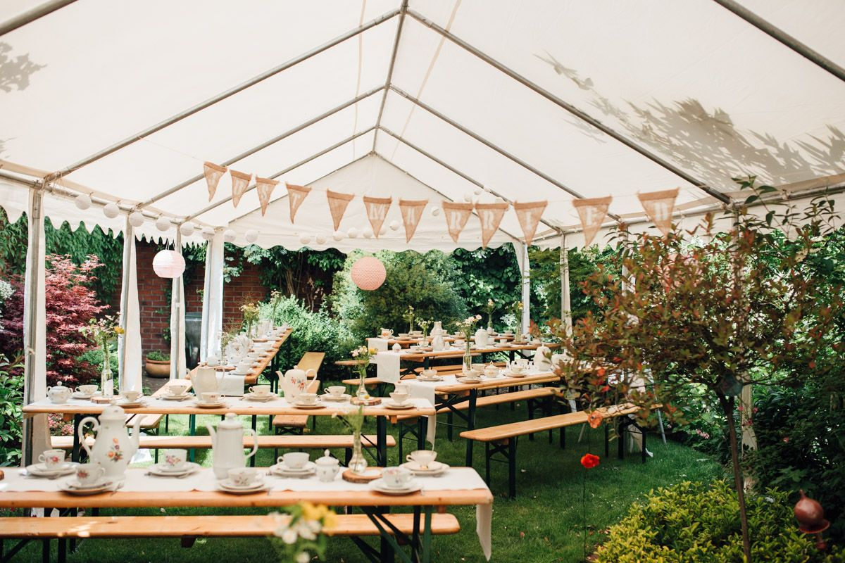 Lässige Gartenhochzeit mit Vintage Chic | Hochzeitsblog The Little Wedding Corner