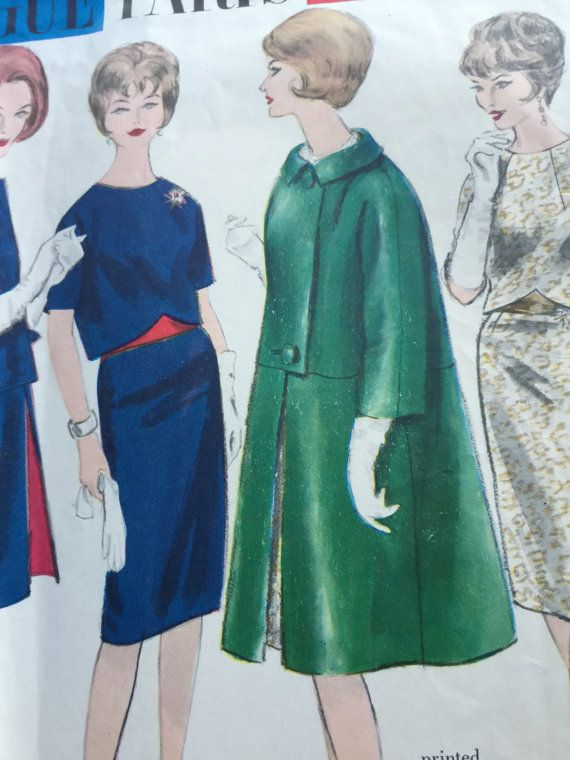 Vintage Vogue Paris Original Design by Madame Gres No. 1106 Vintage ...