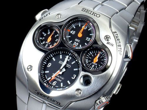 813095149c4a Watch seiko kinetic sportura slq017 limited edition steel ...
