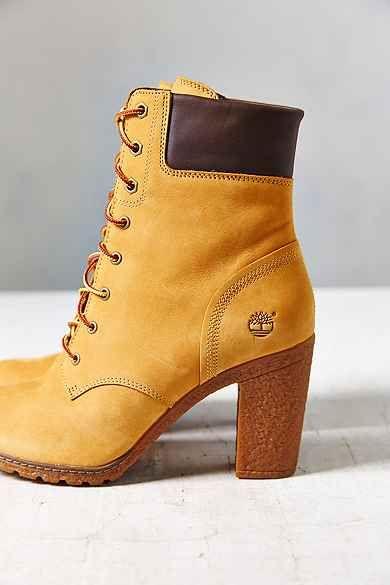 Timberland Glancy Wheat Heeled Boot