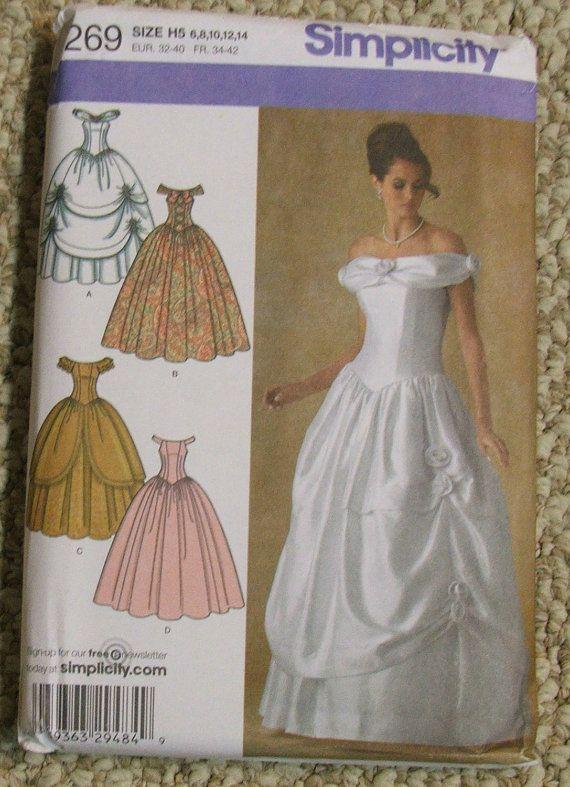 Beautiful Belle Gown Pattern Elaboration - Long Formal Dresses ...