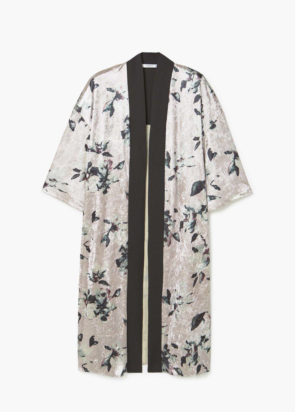liquidación de venta caliente diseño atemporal como escoger Floral velvet kaftan - Women   Clothes in 2019   Kimono ...