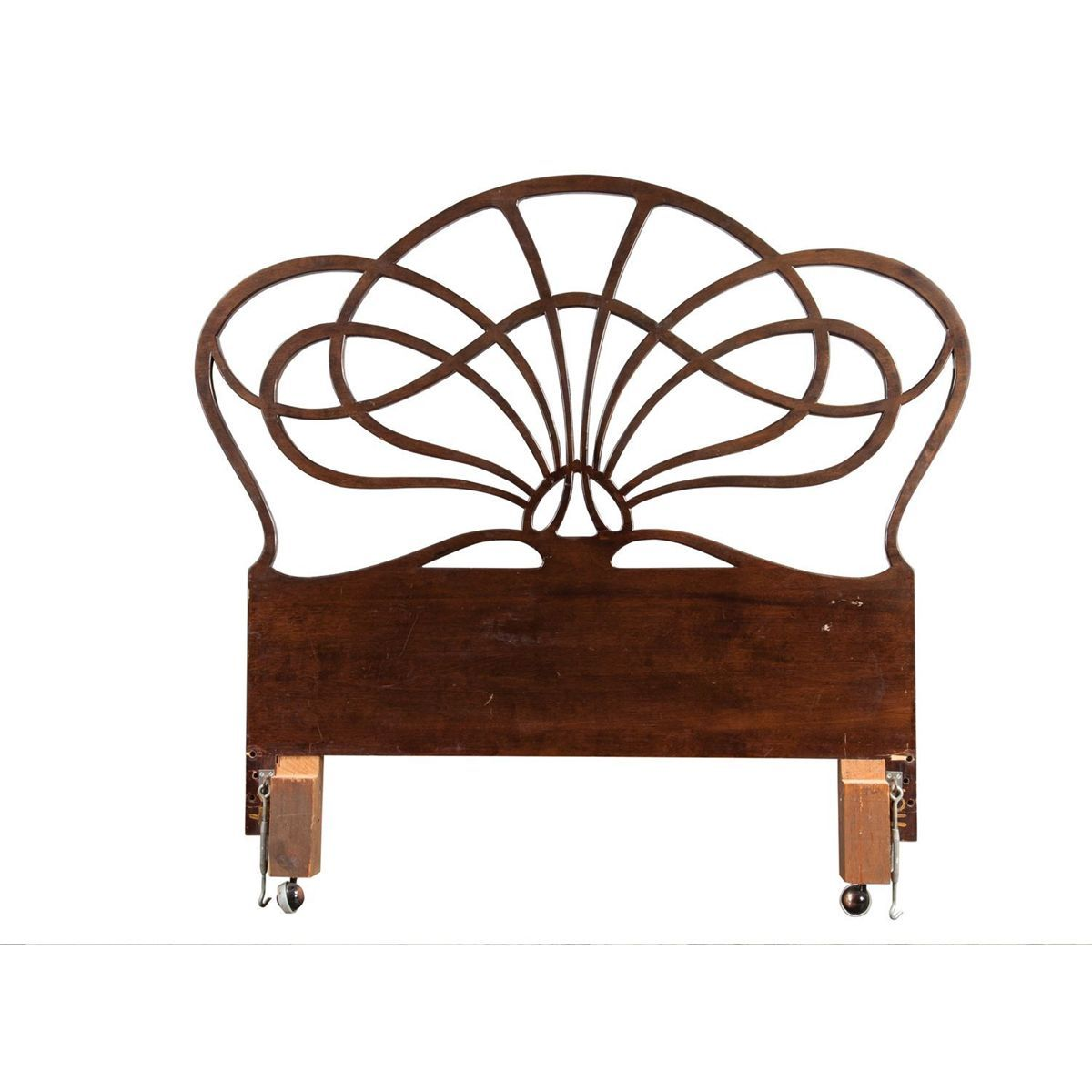 Art Nouveau Headboard From Maurice Chevalier's Bedroom In