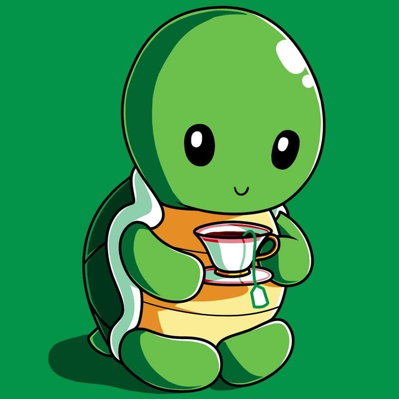 Anime Schildkröte