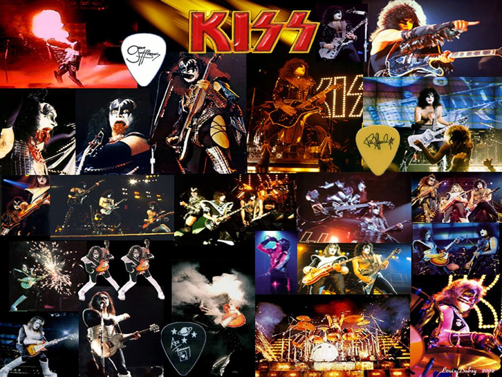 Kiss Wallpapers And Music Videos Music Wallpaper Band