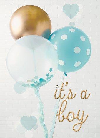 Extreem Kaarten - geboorte - zoon | Hallmark | Felicitaties geboorten #BQ94