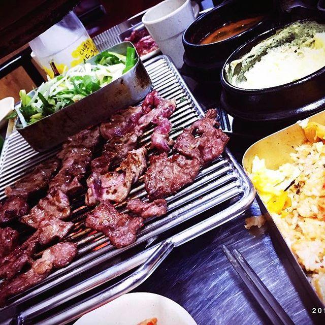🇰🇷pyeongtaek 한국에서도 역시 #고기 ㅋㅋㅋㅋ 韓国でもやっぱり #肉 (笑) . #맛스타그램 #먹스타그램 #한식 #韓国料理 #おいしい #yummy #tasty #delicious #korea #koreanfood #koreanstyle