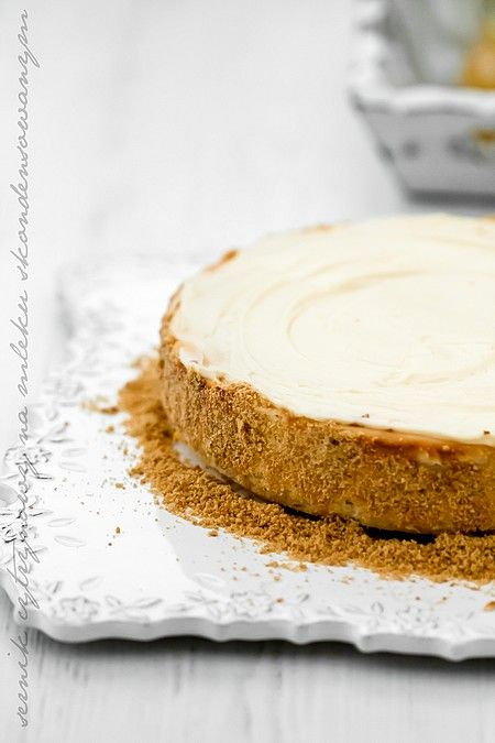 Lemon Cheesecake with Condensed Milk and Lemon Cream
