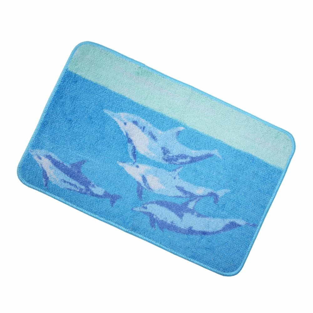 Dolphin Bathroom Rugs
