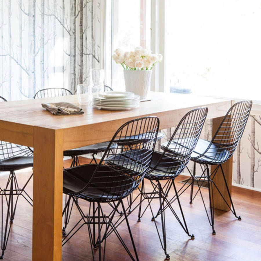 Image Result For Dkr Eiffel Wire Chair Black In Classic Design