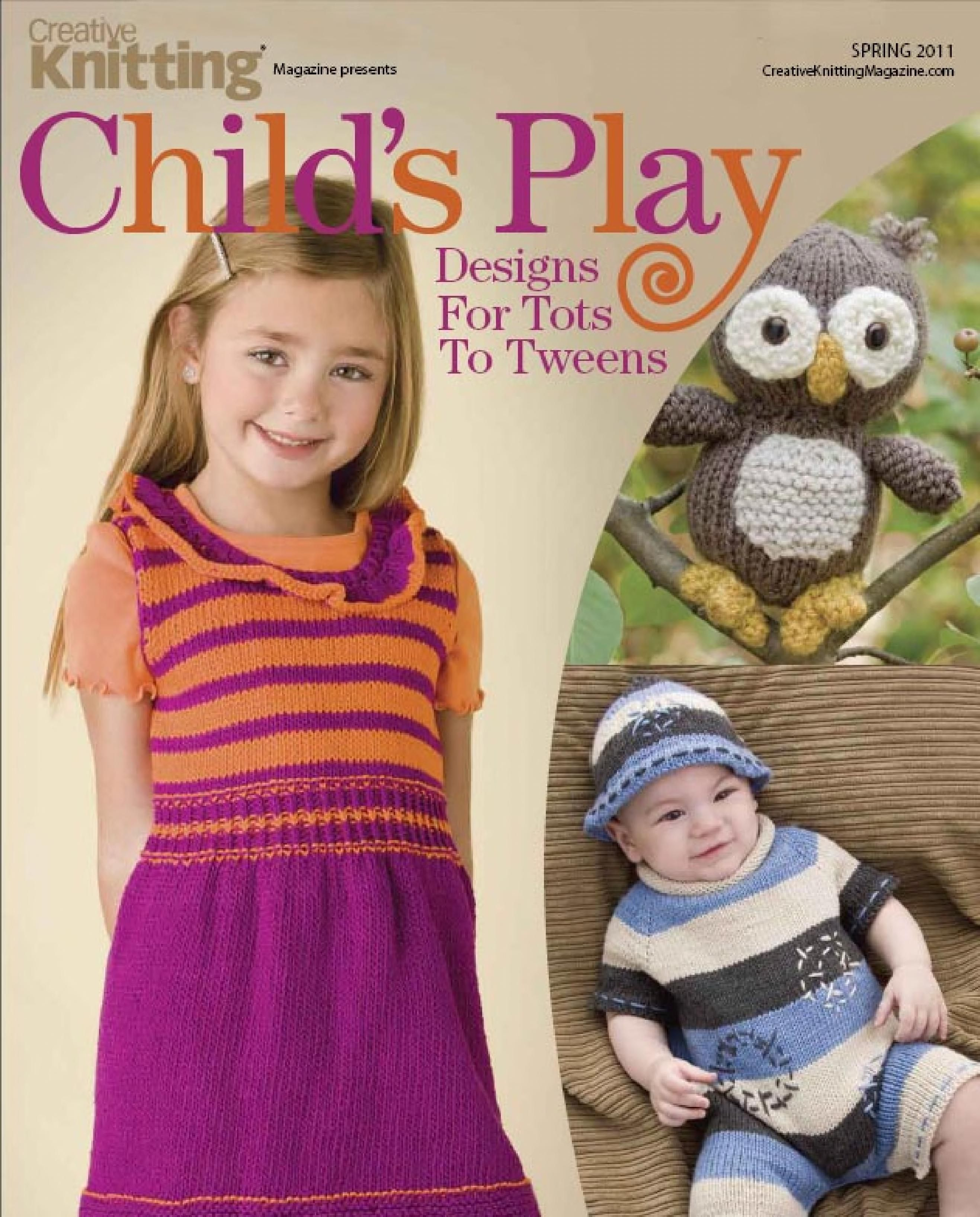 Creative Knitting 2011 04 Childs Play | Handwork - Knitting ...