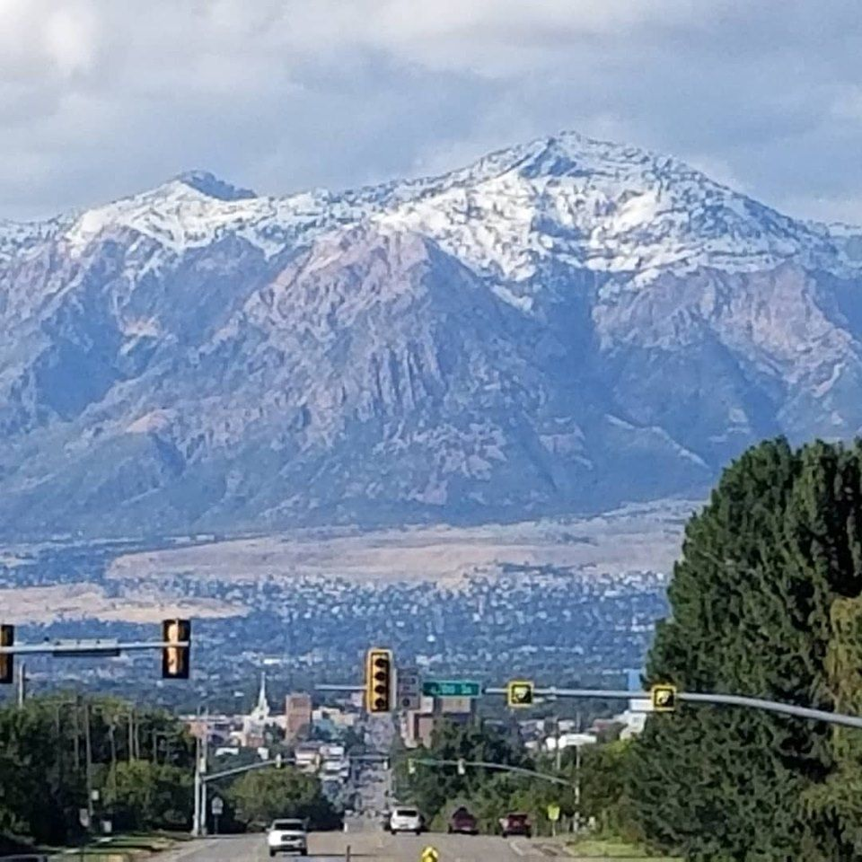 Ben Lomond Peak- Ogden, UTAH - 1st snow fall - 09222019
