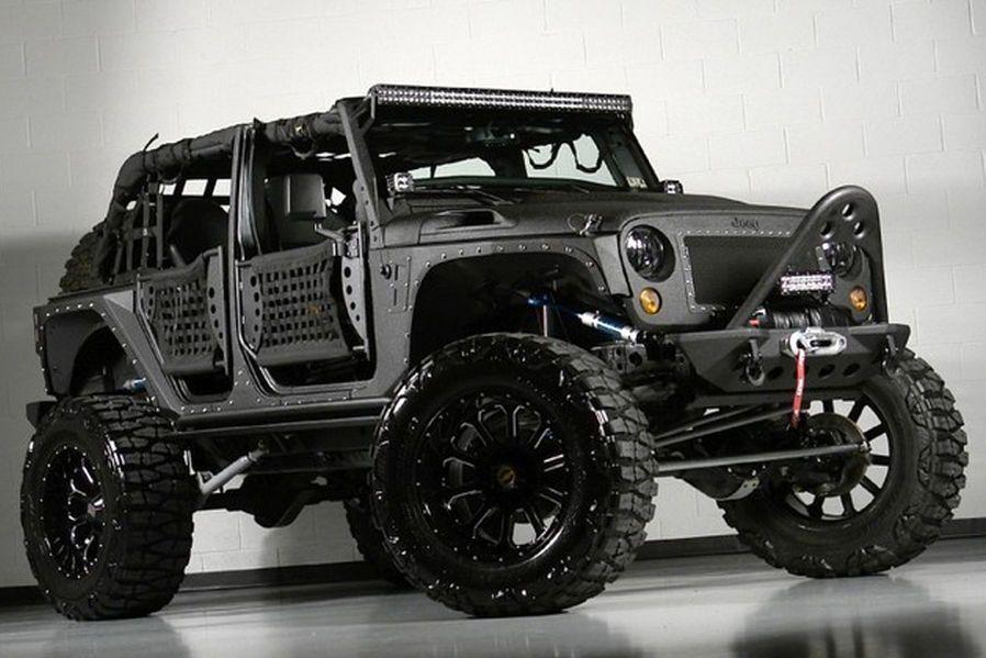 Jeeps Custom 2017 Jeep Wrangler Unlimited Full Metal Jacket The Best Dealership In New Jersey