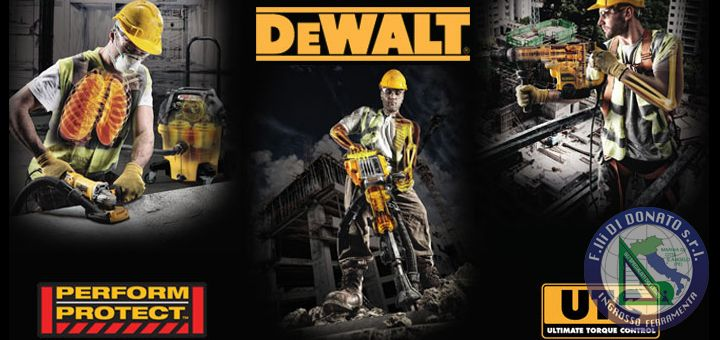 DeWALT: PERFORM & PROTECT