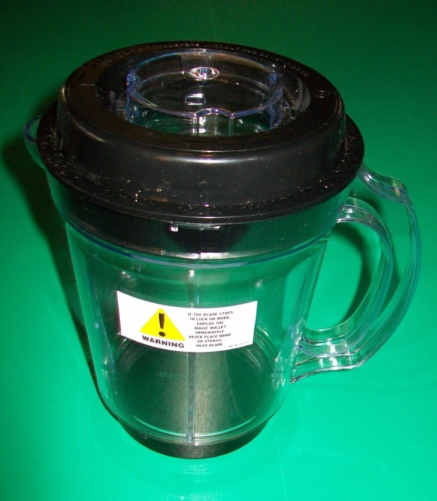 NEW Blender Pitcher Magic Bullet 24oz Capacity Smoothies Pancake #Replacement #magicbullet