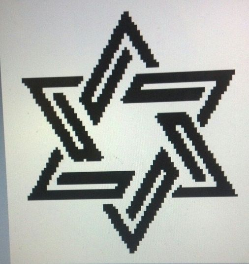 This Star Is The Same As The Star Of David A Symbol Of Judaism