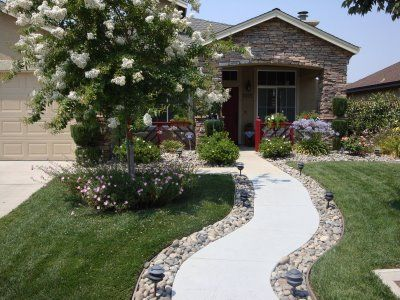 Our First Entry Welcome To Our Home Front Walkway Landscaping