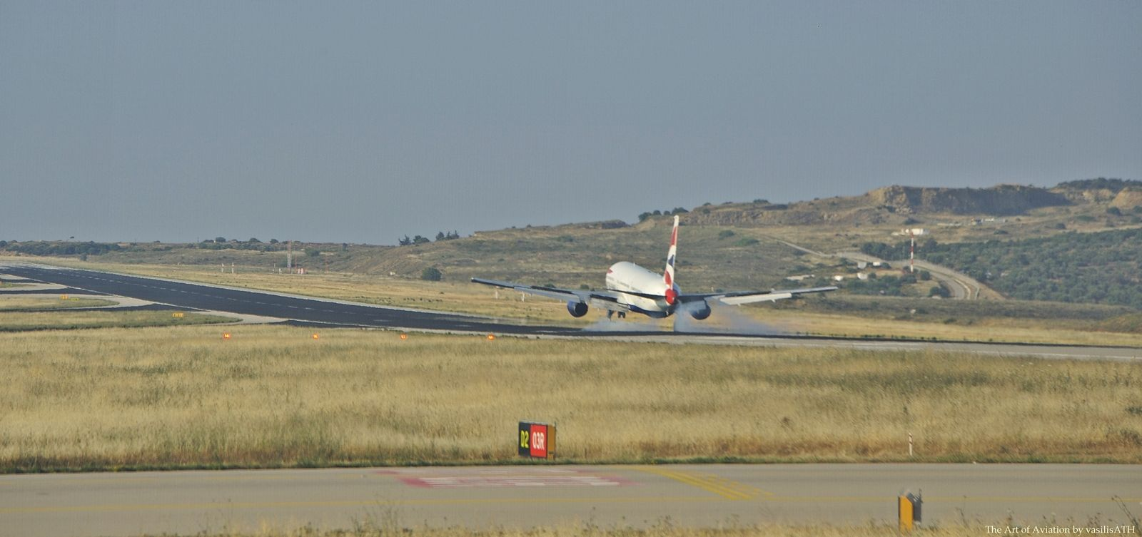 "British Airways Arrival Athens International Airport ""Eleftherios Venizelos"" IATA: ATH – ICAO: LGAV"