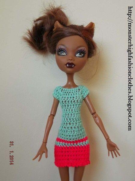 Vestido para Monster High V169 de My Monster High boutique por DaWanda.com
