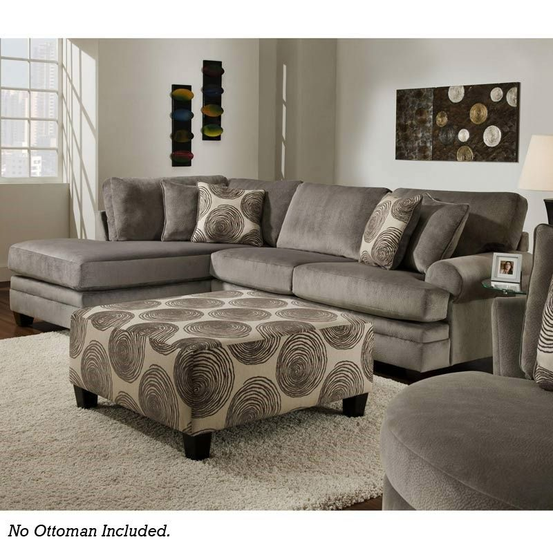 Groovy Gray Sectional $899 | Sectional sofa, Furniture, Couch