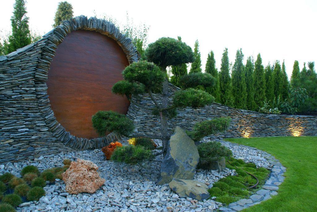 Ogród Japoński  Inspiracje ogrodowe  Pinterest