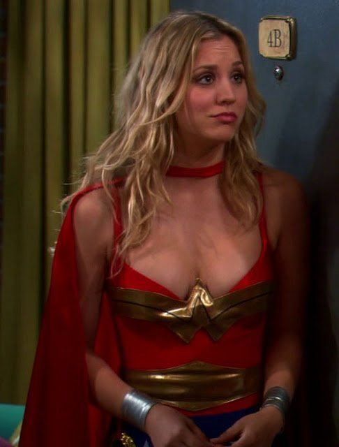 Thank for kaley cuoco wonder women opinion