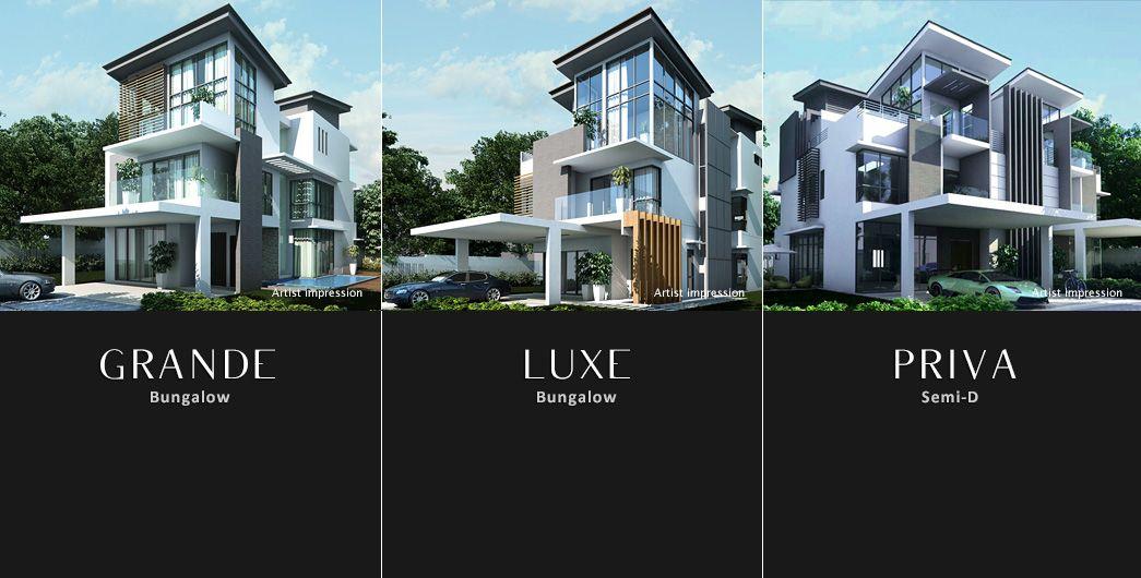 Casona luxury homes floor plan 1 4 malaysia modern for Malaysia house plan