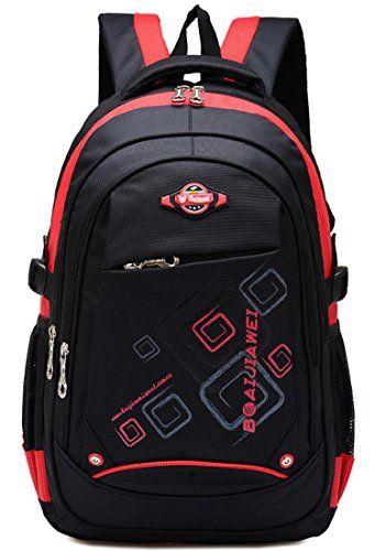 Waterproof Backpack for Middle School Cool Bookbag Travel Outdoor ...