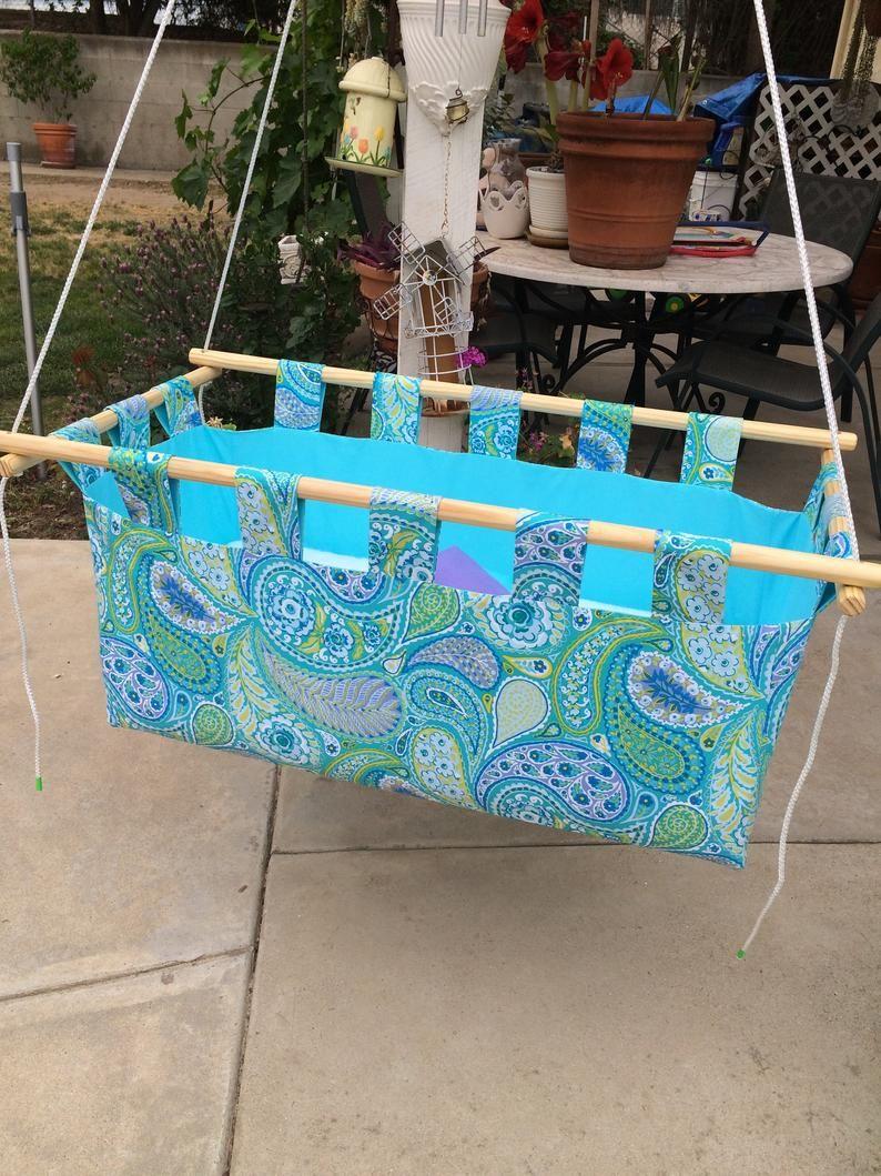 Cuna Colgante De Interior Al Aire Libre Urbano Colgante Etsy In 2020 Hanging Cradle Hanging Baby Crib Hanging Bassinet