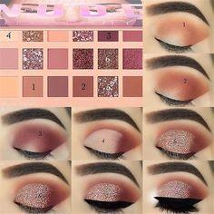 43 tutoriales de sombras de ojos para un maquillaje perfecto: tan fácil que inc…