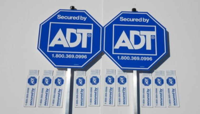 Adt Stickers And Signs Do They Prevent Crimes Security Signs