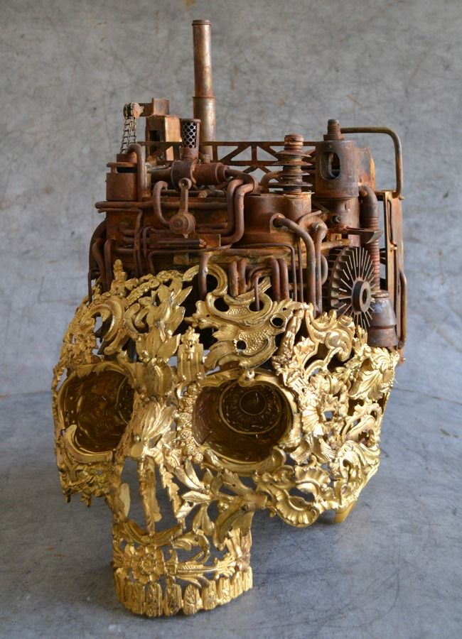"steampunktendencies: "" Deus Ex Machina - Alain Bellino """