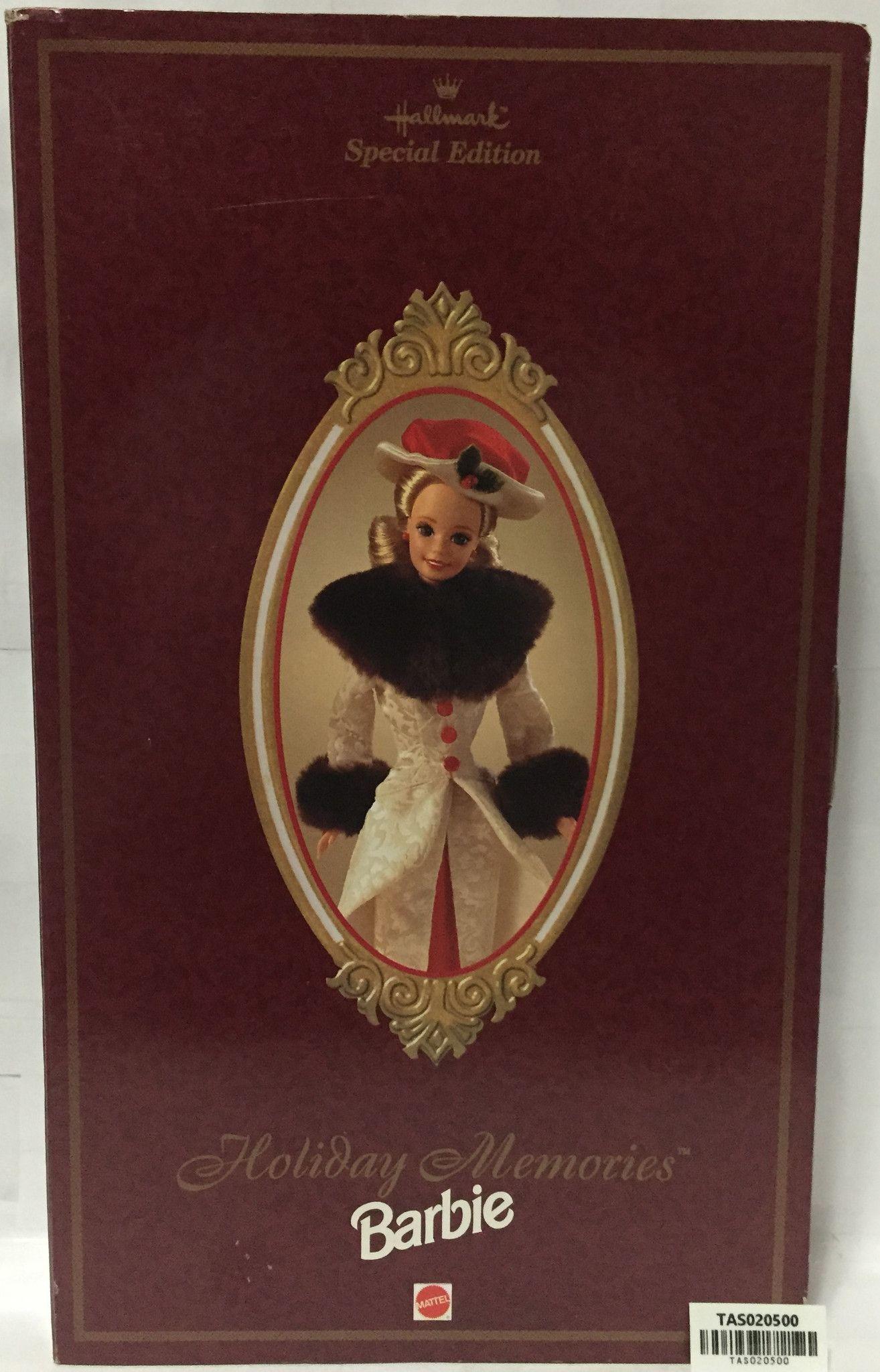 (TAS020500) - 1995 Mattel Special Edition Holiday Memories Barbie