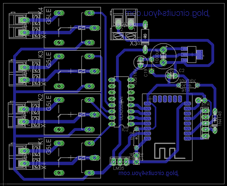 Pcb Layout Iot Home Automation Home Automation Project Home Automation Home Automation System