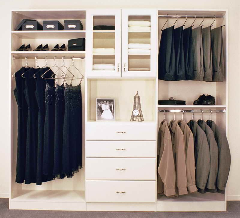 Diy Closet Organizer With Photo Frame Closets Pinterest Closet