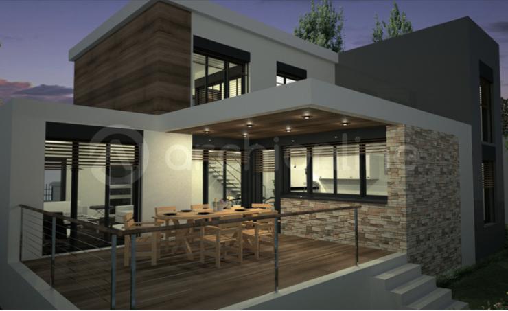 13 simple Maison Amanda - Plan de maison Moderne par ...