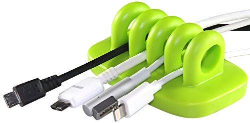 ENVISIONED Desktop Cable Organizer and Cable Holder for C...