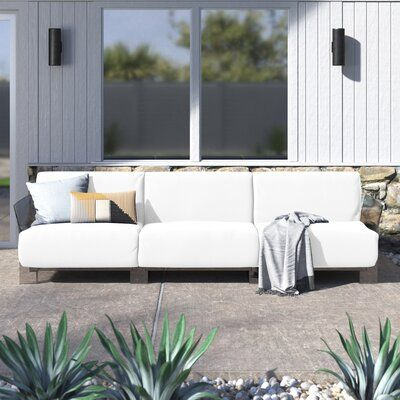 Pop Outdoor Three Seater Patio Sofa | AllModern