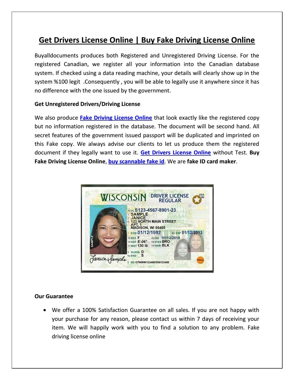 Get Drivers License Online Driving license, Drivers