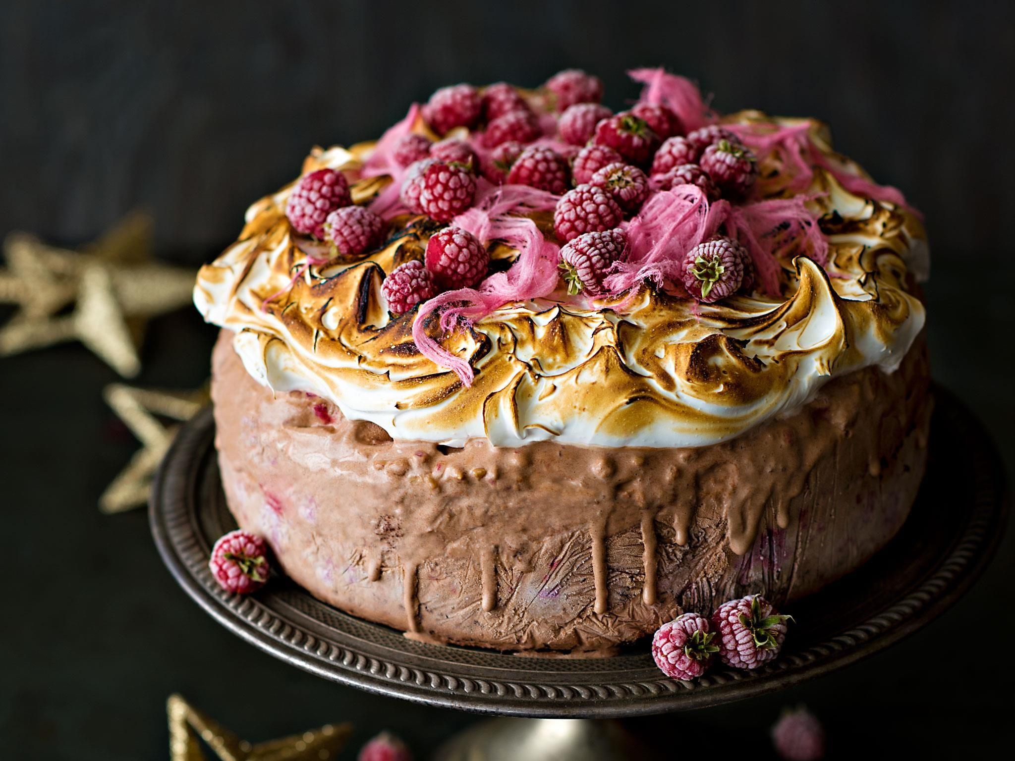 Hazelnut and chocolate ice cream cake recipe chocolate