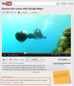 Funniest Apple Maps Comment EVER on YouTube    #applemaps #funny
