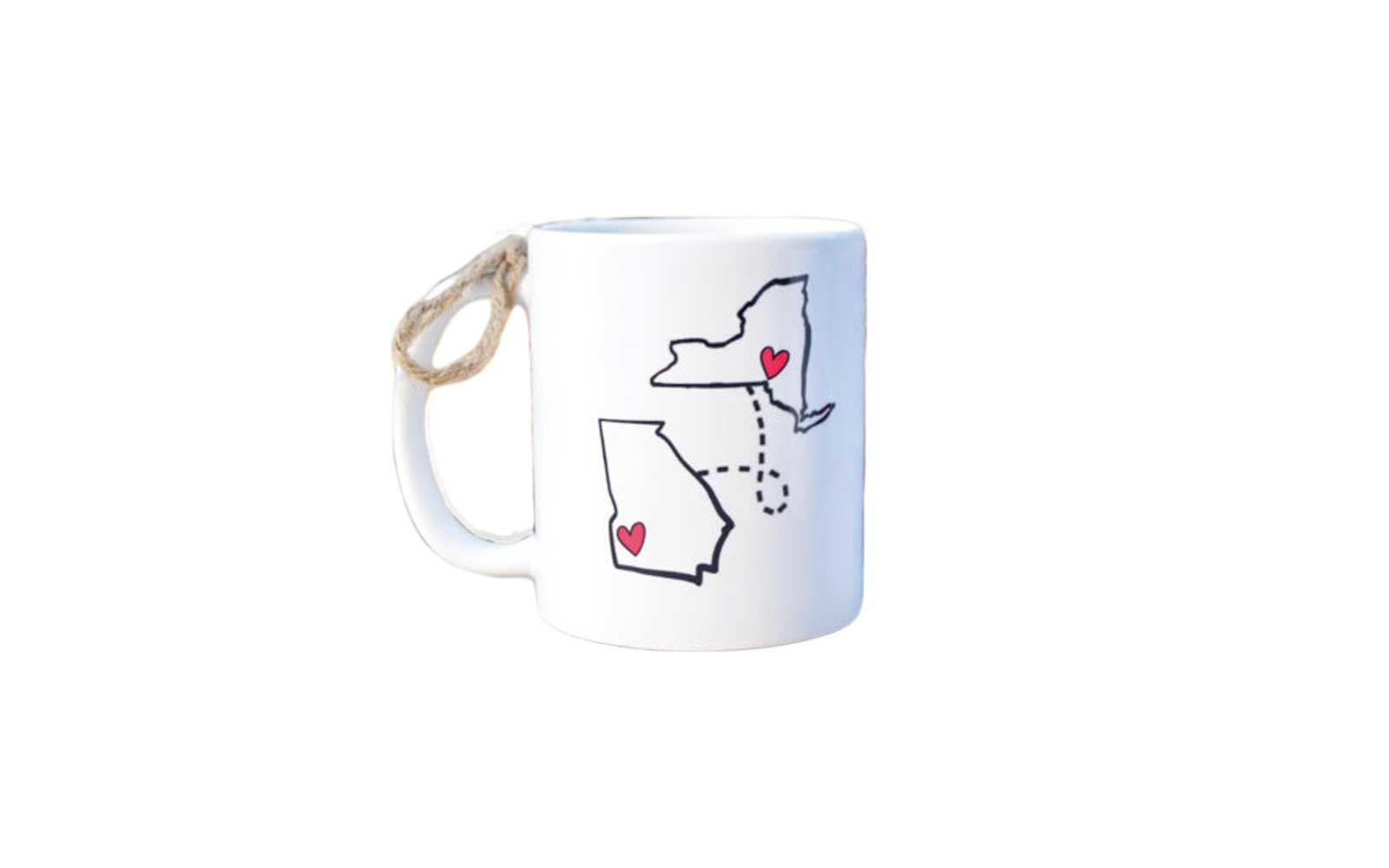 State To Long Distance Mug Sweet Creative And Fun Gift Ideas Send Significant Others Friends Family Who Live Too Far From You