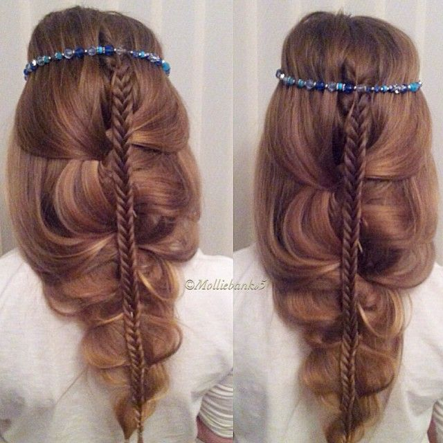 hair style in braids inspired by lalasupdos account is amazing check it 5537