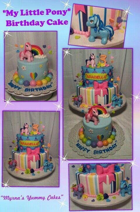 """""""My Little Pony"""" Birthday Cake By Myrna's Yummy Cakes"""