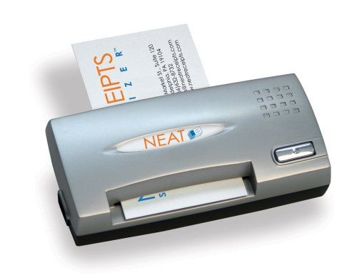 Neatreceipts Neat Business Cards Mobile Full Color Card Reader