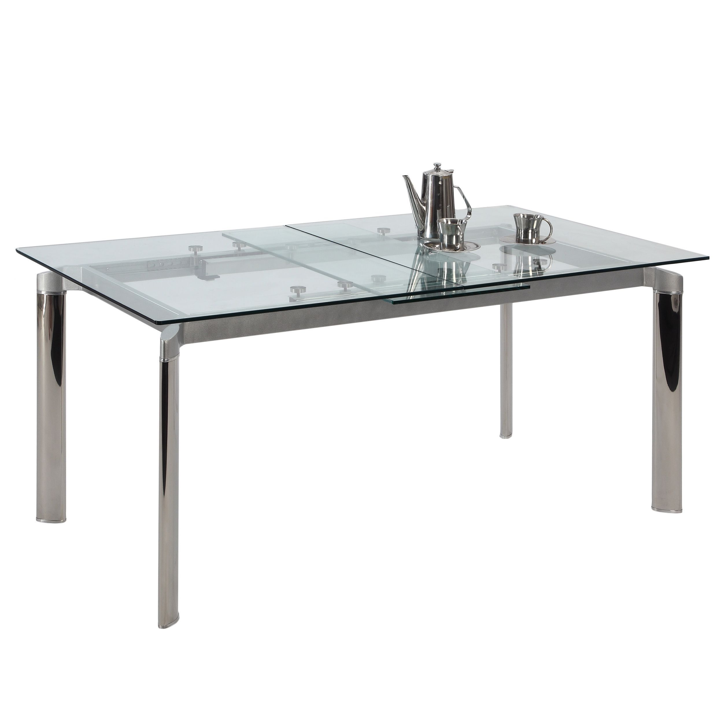 Glastisch Tempered Update Your Space With This Unique Tamra Glass Dining Table The